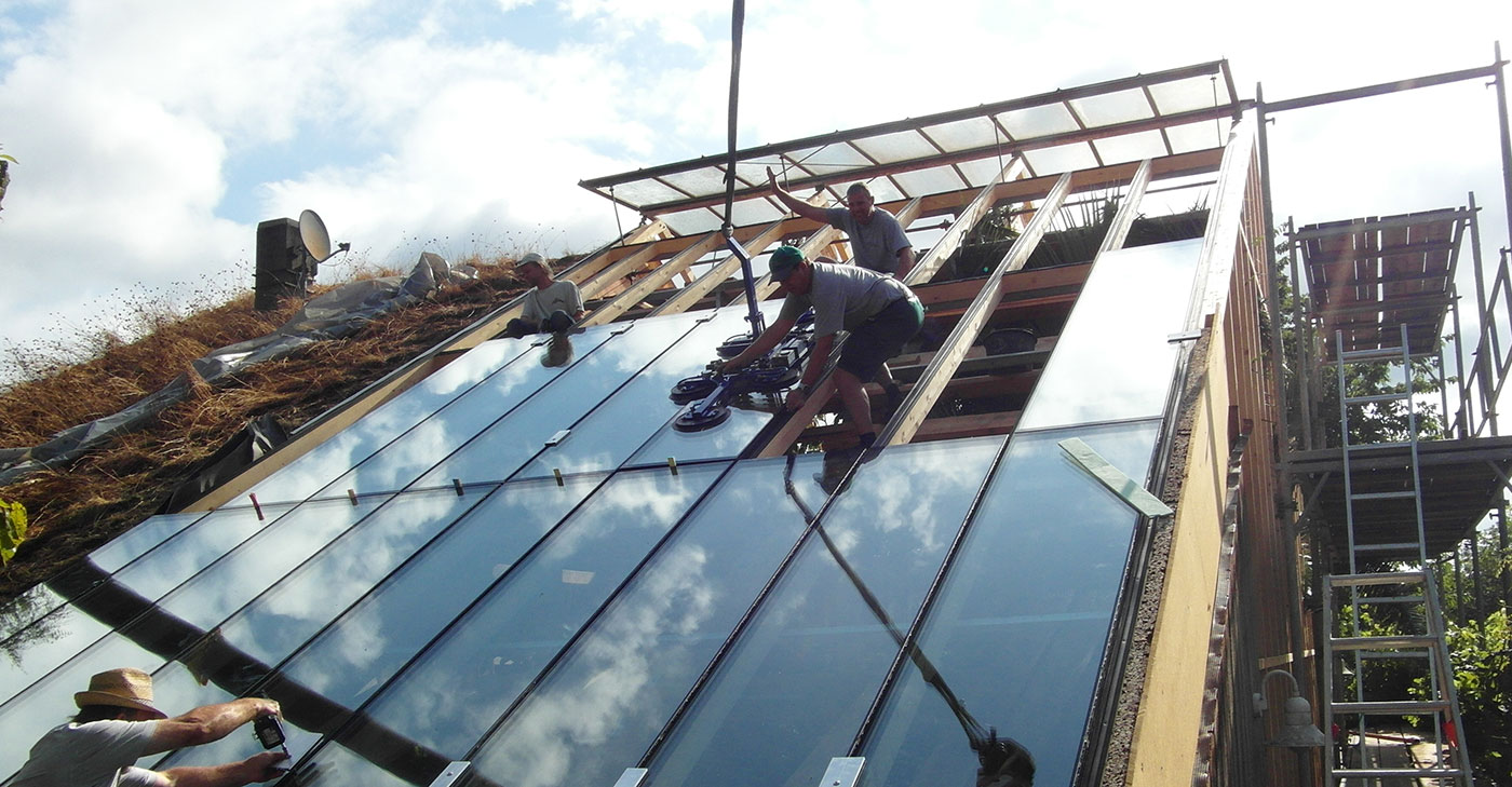 Montage einer Dachverglasung in Eggenfelden